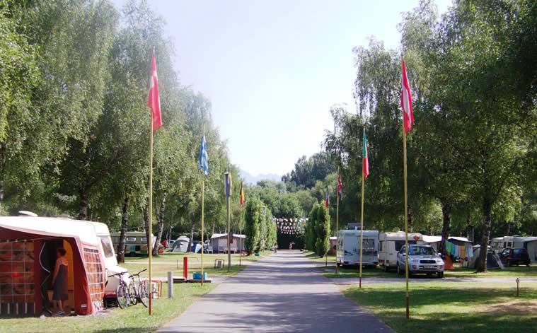 camping aloua lac annecy
